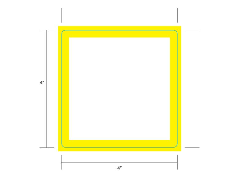 Yellow Border